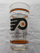 NHL 1974-75 PHILADELPHIA FLYERS  Stanley Cup Champs Team Roster Bar Glass 6""