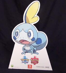 Pokemon Sword / Shield Sobble Cardboard Retail Display Stand Standee.