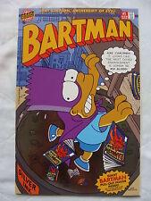 Bartman #1 Silver Foil Variant VF/NM-