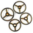 ARROWMAX Aluminum Set-Up Wheel 4 pcs Black Golden For 1/8 RC On-Road  AM-171008