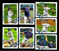 2021 Topps Series 1 - NEW YORK METS Team Set 12 cards