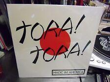 Tora Tora Made In America LP 1984 Frizz Bee Records Sealed