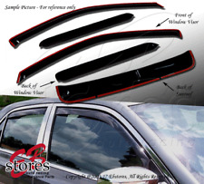 In-Channel Rain Guards Visor Sun roof Type 2 5pc Chevy Chevrolet HHR 2006-2012