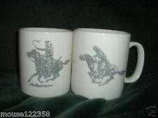 Pair of Horse Mugs or  Cups marlboro