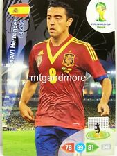Adrenalyn XL - Xavi Hernandez - Spanien - Fifa World Cup Brazil 2014 WM