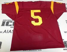 Reggie Bush Signed USC Trojans Football Jersey PSA/DNA COA #5 Rookie Autograph