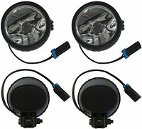 2 New OEM Right Or Left Fog Lamp With Bulb Light Front Bumper Foglight Driving