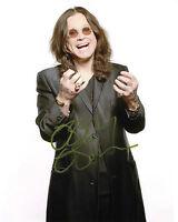 REPRINT - OZZY OSBOURNE 4 Black Sabbath autographed signed photo