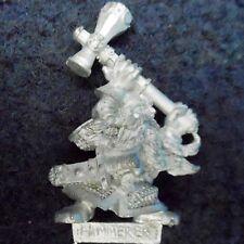 1996 Dwarf Hammerer Champion Command Group Dwarven Warhammer Army Hero Citadel