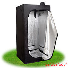 """32""""x32""""x63"""" Indoor Tent Complete Grow Room For Plant Non Toxic Greenhouse Box"""