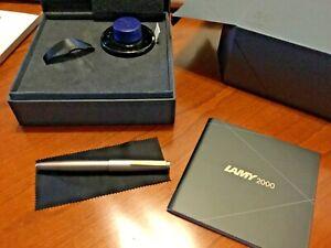 ***START USD 199!*** LAMY 2000 pen, limited edition  BLACK AMBER, 50th Ann.