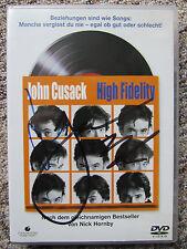 DVD High Fidelity / signiert / Autogramme John Cusack und Jack Black