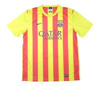 Barcelona 2013-14 Authentic Basic Away Shirt (Excellent) L Soccer Jersey