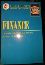 Finance: Funding Ministries That Mature Persons In Their Faith [Paperback]