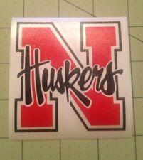 Nebraska Cornhuskers 2 Color Decal For Your Yeti Rambler Tumbler Colster