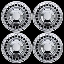 "1998-2002 Ford Crown Victoria 16"" Chrome Wheel Covers Hub Caps Full Rim Hubs New"