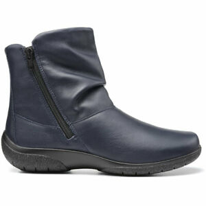 Hotter Women's Whisper Wide Fit Boot Leather Zip Fastening Ankle Boots UK 9 EU43