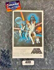 Star Wars New Hope Chromart Poster Zanart Print COA Vintage LE