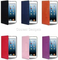 For iPad Mini Novo Premium PU Leather Folio Case Cover With Stand Function