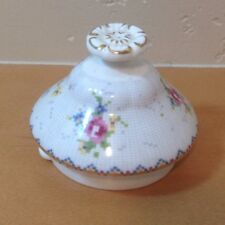 Royal Albert Petit Point Coffee Pot Lid Needlepoint Design Floral England 2.25""