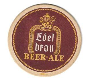 1930/40s EDELBRAU Brewery Beermat/Coaster New York USA