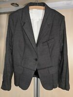 Womens Maison Martin Margiela for H&M Blazer Jacket Grey Size EU38 / US8