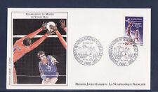 enveloppe 1er jour  NF  championnat du monde de volley ball    , 1986