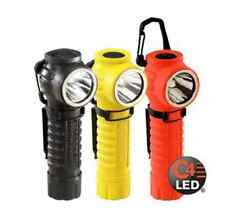 Streamlight: PolyTac 90 C4 LED Right Angle Polymer Flashlight, 2 CR123A YELLOW