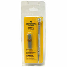 Bergeon Watchmakers Swiss Screwdriver 3.00mm 30080-L with spare blades - HS1430