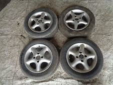 Ford fiesta KA alloy wheels 14 inch 4 x 108 silver with 185 tyres