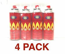 4Pk ES Butane Fuel Canisters Cartridges for Stove Burners/FREE EXPEDITE SHIP!!!