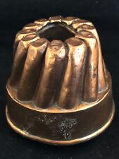 Moule à Gateau en Cuivre Antique Cake Pan Copper Patisserie TROTTIER 12