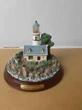 Thomas Kinkade - Seaside Memories Lighted Lighthouse - Light in the Storm