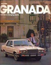 Ford Granada 1981 USA sales brochure