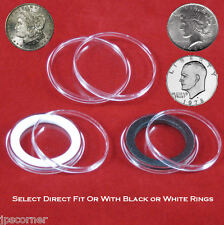 Air-tite 38mm Coin Holder Capsules for Silver Dollars, Morgan,Peace & Eisenhower