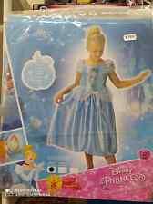 vestito  cenerentola  bambina 3-4 anni cm104 carnevale originale disney