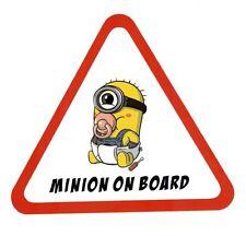 Baby on Board Minion Sticker Window Car, Truck, Vehicle