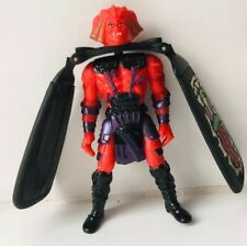 Vintage Red Dragon Flyz Dread Wing Flying Action Figure Launcher 1995