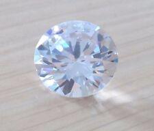 Unheated 1.18ct AAAAA White Sapphire 6mm Round Diamonds Cut VVS Loose Gemstone