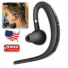 Bluetooth Earpiece Long Battery Life Headset Headphone for iPhone Samsung Xiaomi