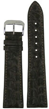 22mm RIOS1931 for Panatime Mocha Imperial Genuine Alligator Watch Band 114/82 22