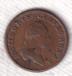 RDR Habsburg Franz II. Cu 1 Kreuzer 1781 Münzzeichen nicht sichtbar stampsdealer