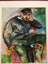 Henri Matisse,Young Sailor With Cap,Rare,Vintage,Offs.Lithograph1939,Platesigned