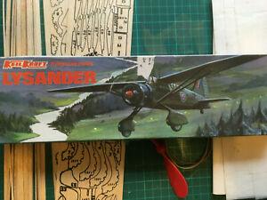 Keil Kraft Westland Lysander Flying Scale Model - Rubber powered.