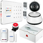 APP Control KERUI G18 Wireless GSM SMS Home Alarm System+720P WiFi IP Camera