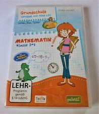 CD-Rom Mathematik 3.+4.. Klasse Grundschule, Rechnen, Lernspaß mit Hexe Lilli