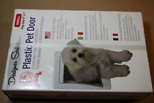 Ideal Designer Series Plastic Pet Door -SMALL, Cat/small Dog