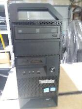 Lenovo ThinkStation E31 Intel Core i7 3770 3.4GHz 8GB RAM 500GB HDD Win 10 Pro
