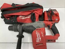 Milwaukee 2717 20 M18 Fuel 1 916 Sds Max Rotary Hammer Bag Amp Charger