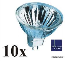 10x Müller-Licht 20W Halogenreflektor GU4 Kaltlichtreflektor MR11 30° 10360